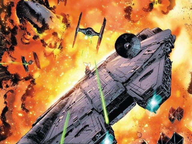 【星戰宇宙相關】達斯維德跟韓索羅誰才是最強飛行員終於知道結果!?漫畫終於跟電影俠盜一號連結!!