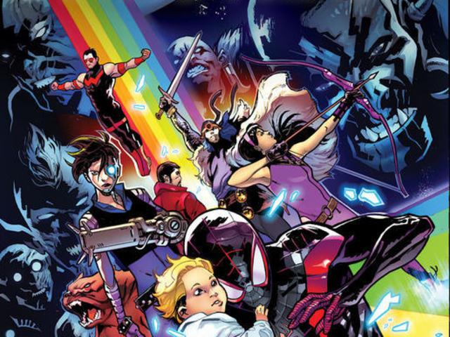 【漫威宇宙相關】二代蜘蛛人領軍另一組超級英雄團隊拯救十界之戰的關鍵人物-索爾最小的妹妹!?