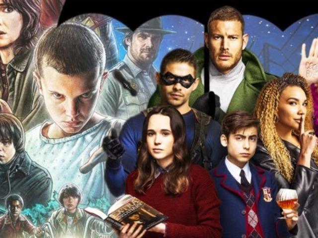 第三方調查顯示同樣是 NETFLIX 獨家影集《雨傘學院》比《怪奇物語》還要受歡迎!