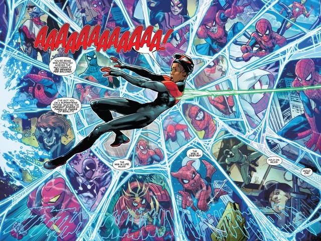 【漫威宇宙相關】最新的《蜘蛛宇宙》故事中揭開邁爾斯為何是多元宇宙的救星!