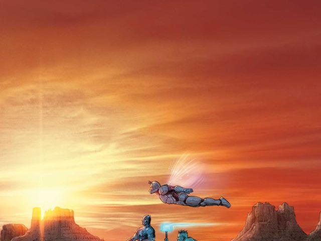 老人羅根宇宙的下一世代英雄組成復仇者聯盟!而史蒂夫羅傑斯居然復活?