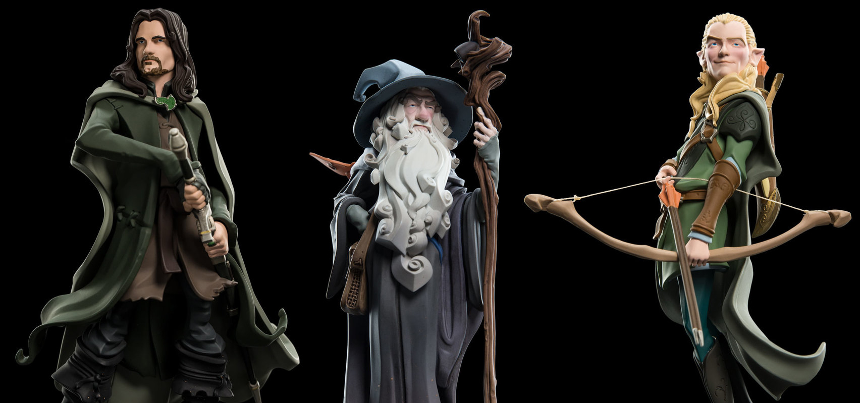 WETA Mini Epics 系列《魔戒》角色人偶第二波 Lord of the Rings Vinyl Figures Series 2