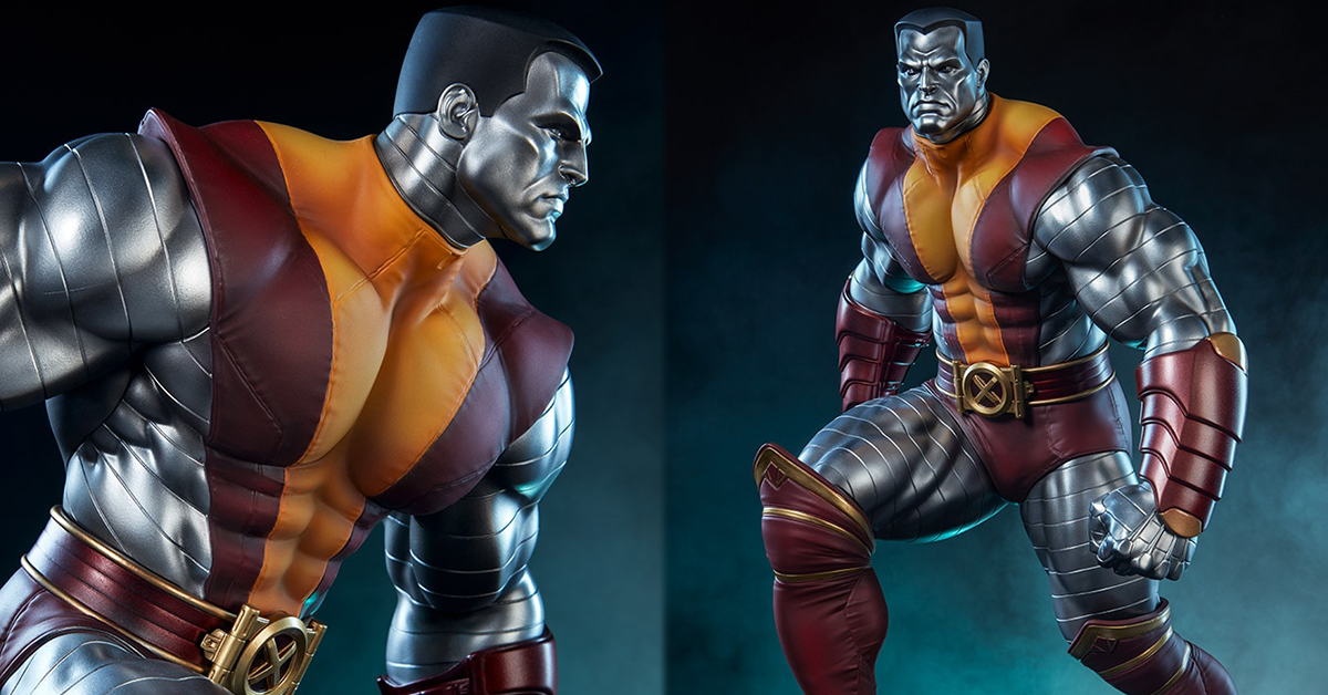 Sideshow Collectibles Premium Format Figure 系列 Marvel Comics【鋼人】Colossus 1/4 比例全身雕像作品 普通版/EX版