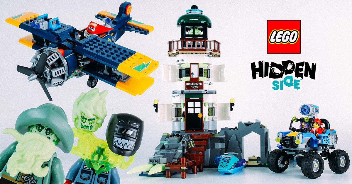 只是抓鬼還不夠,與朋友一起對戰遊玩更歡樂~! LEGO 70428、70429、70431 幽靈秘境 (Hidden Side) 系列三款盒組開箱報告(下篇)