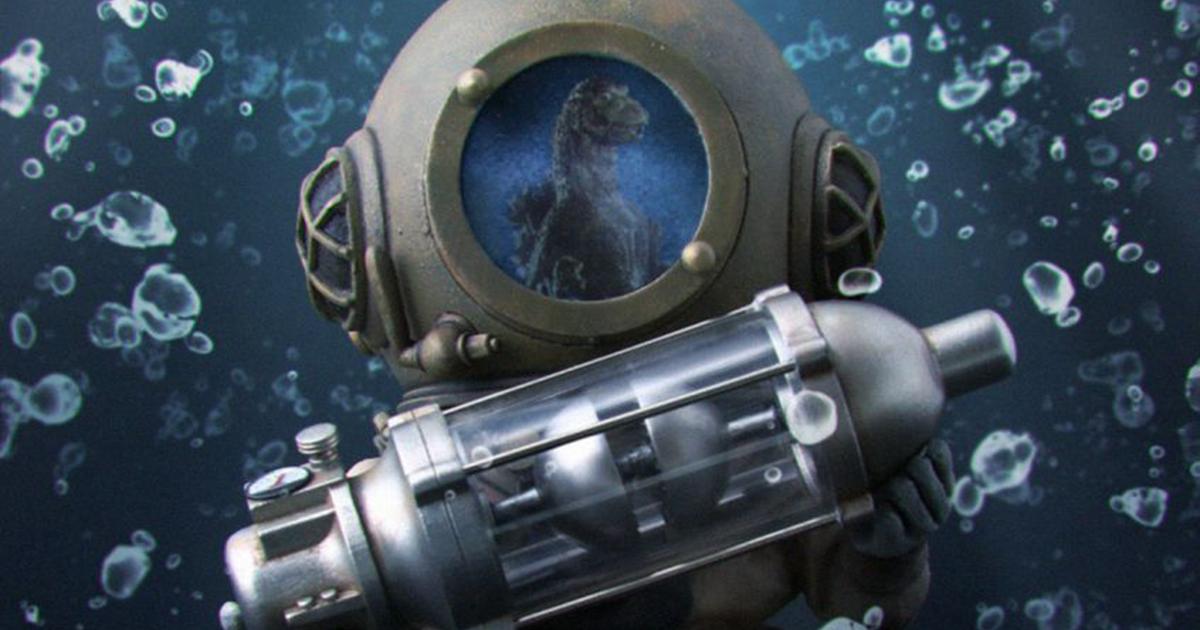 DEFOREAL「芹澤博士 總天然色Ver.」與哥吉拉一同葬身海底的天才科學家登場!