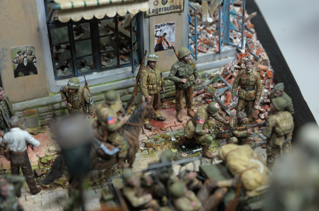 Freedom Cup Taiwan Model Show參賽作品:We Are Back 模型場景