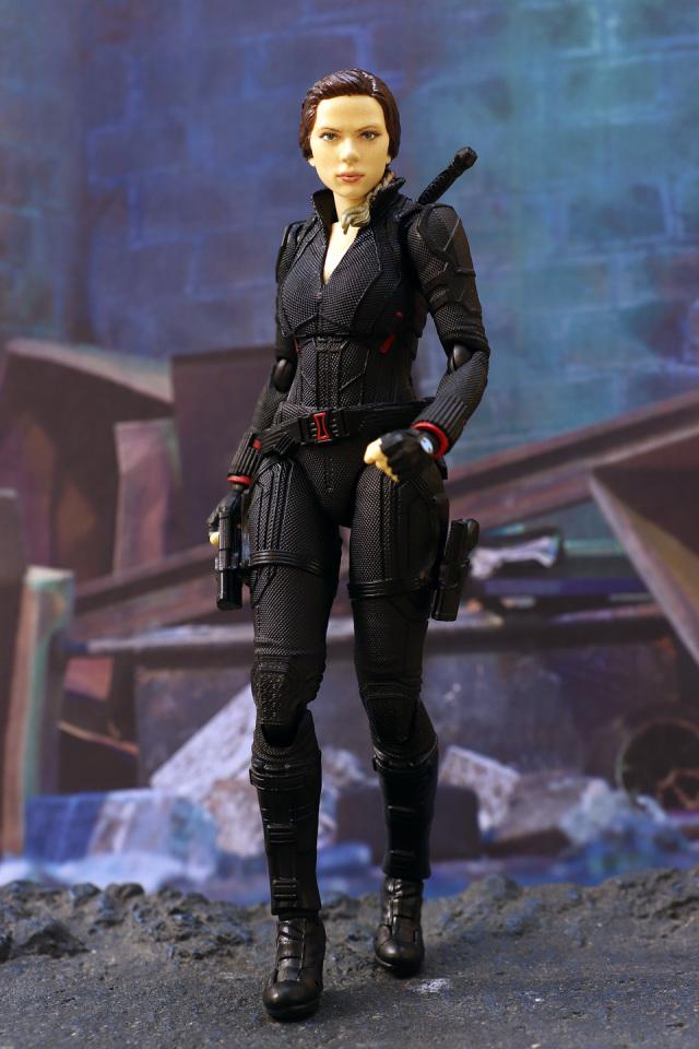 [D.M.S. 玩具報告] 最後綻放的墜落花。SHF - Black Widow 黑寡婦