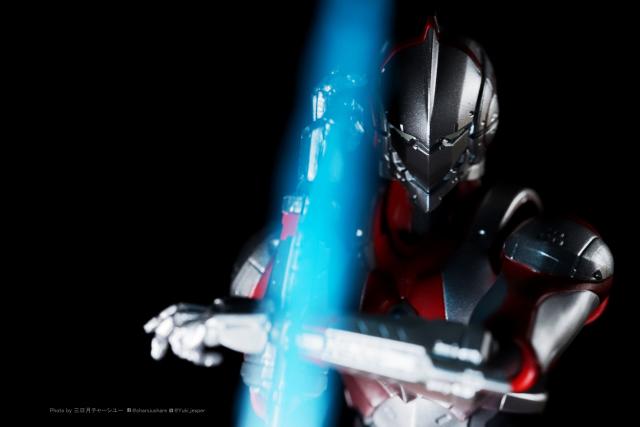 比起ultraman ,反而更像iron man 的ultraman ~~SHF ULTRAMAN animation ver.分享『 叉燒會興趣式開箱』