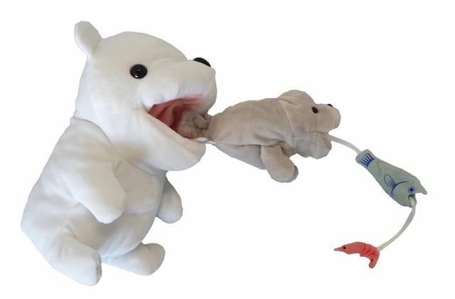 生物課最佳教材!日本AQUA推出超可愛「食物鏈」娃娃  由小而大塞進大型動物的嘴裡~