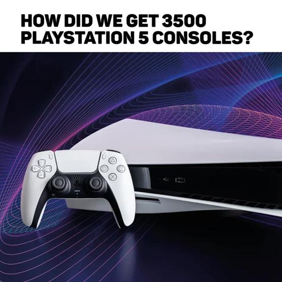 英國黃牛轉手PS5賺7600萬  3500臺出貨表態:「沒遺憾,成員心滿意足」