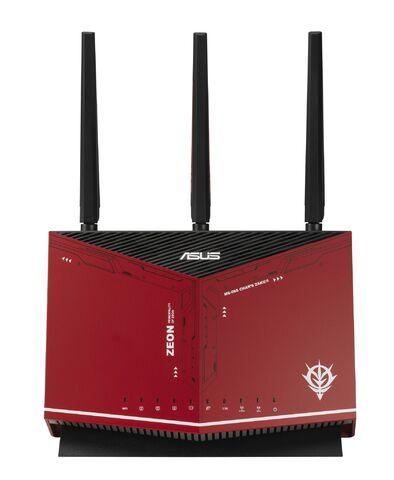 連線速度宇宙第一!ASUS×《機動戰士鋼彈》合作推出「RX-78-2」、「夏亞」造型Wi-Fi路由器發表!