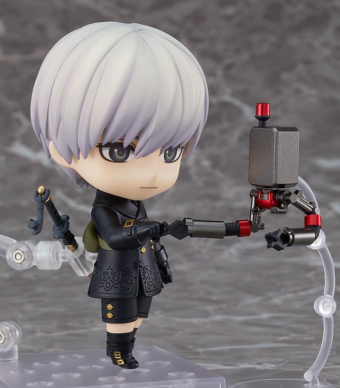 與2B作戰是我榮幸!黏土人《尼爾:自動人形》9S 寄葉九號S型