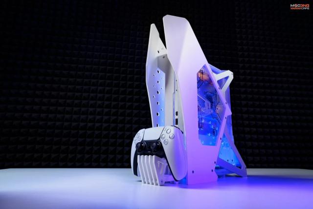 PS5水冷改裝魔人完全訂製  機體縮小未來將會開放購買!!