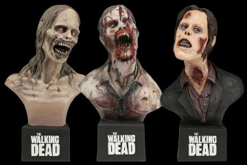 "NECA ""The Walking Dead"" 迷你胸像"