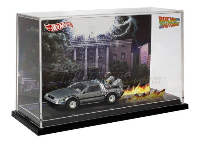 Hot wheels SDCC 限定回到未來DeLorean