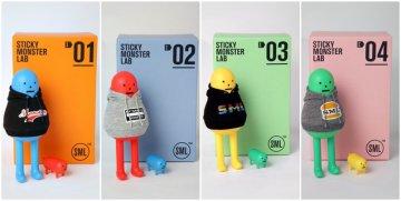 韓國Sticky Monster Lab設計單位所推出的角色玩具