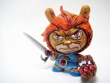 "3"" Lion-O Munny by Jared Cain aka Nikejerk"