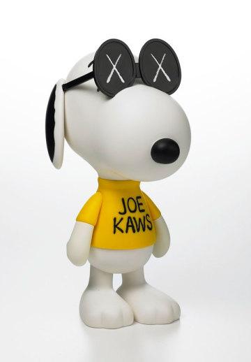 "Original Fake x Peanuts = ""Joe KAWS"""