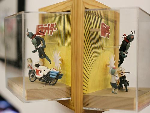 假面騎士與超級戰隊展覽作品販售