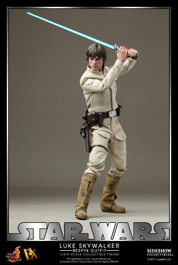 Hot Toys DX07-Star Wars: Luke Skywalker (Bespin Outfit) Collectible Figure