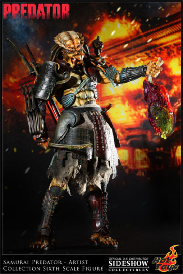Hot Toys 全新系列 Artist Collection:Samurai Predator (武者終極戰士)