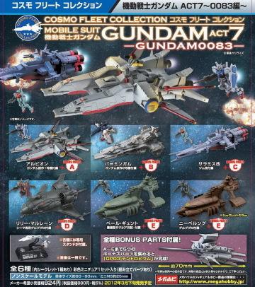 縮小版宇宙艦艇系列第七彈機動戦士ガンダム0083編