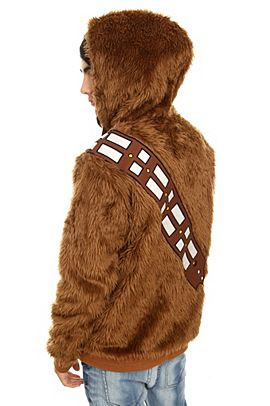 Star Wars Chewbacca Furry Zip Hoodie星戰裘巴卡外套