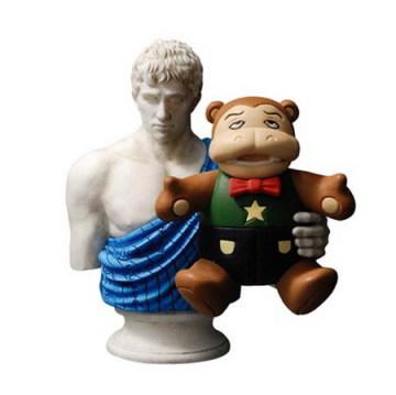 惡搞不停,羅馬浴場雕像傑作推薦!