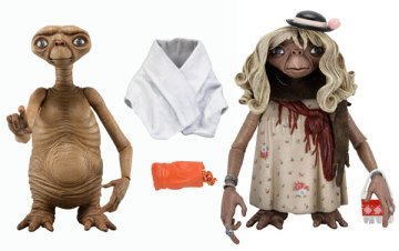 外星人E.T.可動玩偶