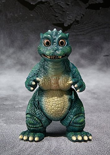 S.H.MonsterArts Little Godzilla & Crystal Set 小哥吉拉與結晶體配件組
