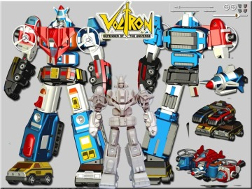 Miracle Productions Vehicle Voltron 機甲艦隊