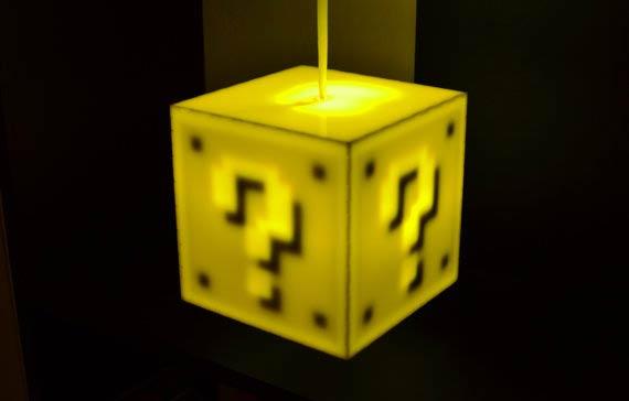 8BitLit - 『超級瑪利歐兄弟』方塊觸控燈!