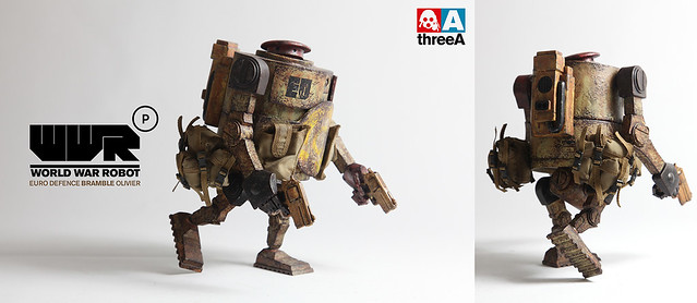 threeA - WWRp EURO DEFENCE BRAMBLE OLIVIER & DEEP POWDER BRAMBLE