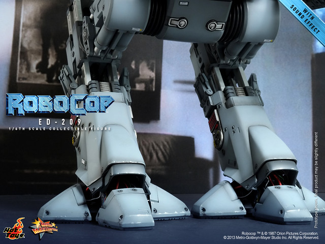 Hot Toys - MMS204 - The 1/6th scale ED-209