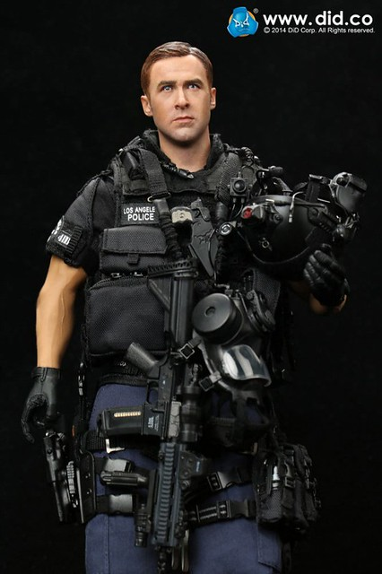"""DID - 1/6 LAPD S.W.A.T ASSAULTER 突擊班 代號""""Driver"""""""