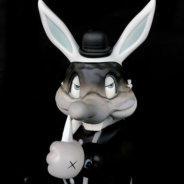 Frank Kozik × BlackBook Toy【A Clockwork Carrot:Lil Alex】灰階版本