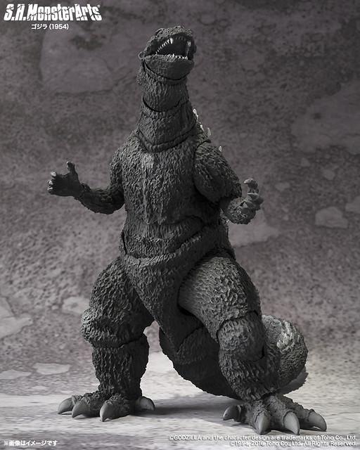【新增照片&販售資訊】S.H. MonsterArts 哥吉拉(1954年版本)