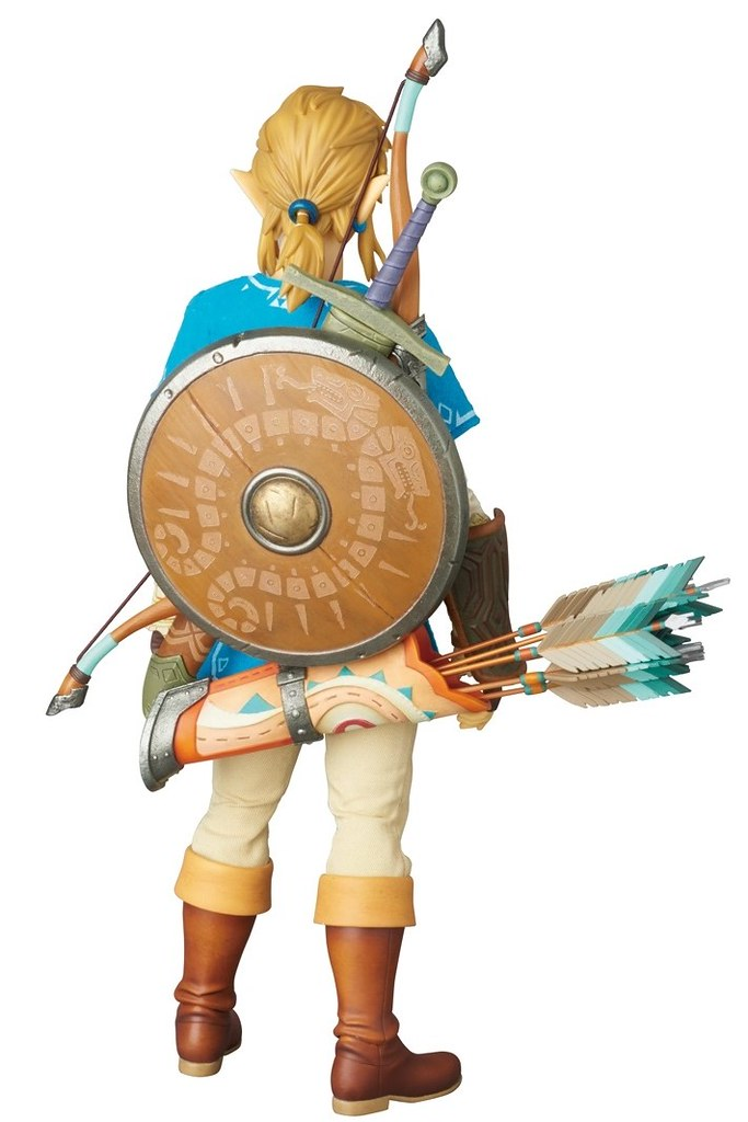 MEDICOM TOY 薩爾達傳說:荒野之息【林克】The Legend of Zelda: Link 1/6 比例人偶作品