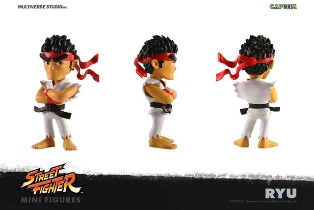 Multiverse Studio【Q 版快打旋風】Street Fighter® Mini Figure 第一彈