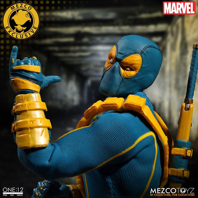 這樣的死侍看起來更歡樂了~~MEZCO – ONE:12 COLLECTIVE 系列【死侍】2017 夏季限定!!MARVEL Deadpool 2017 Summer Exclusive 1/12 比例人偶作品