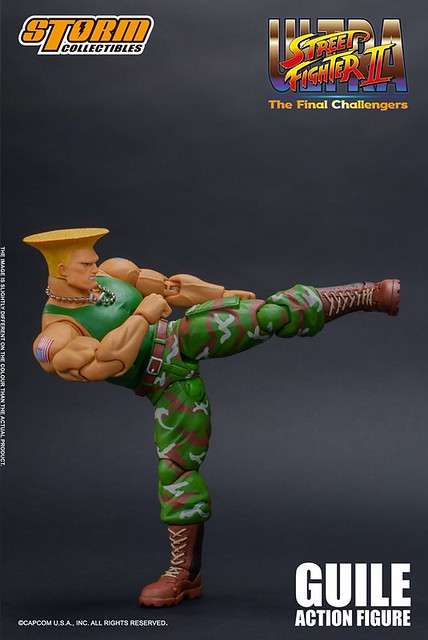 Storm Collectibles《終極快打旋風Ⅱ:最後的挑戰者》美軍少校「凱爾」!GUILE – Ultra Street Fighter II : The Final Challenger