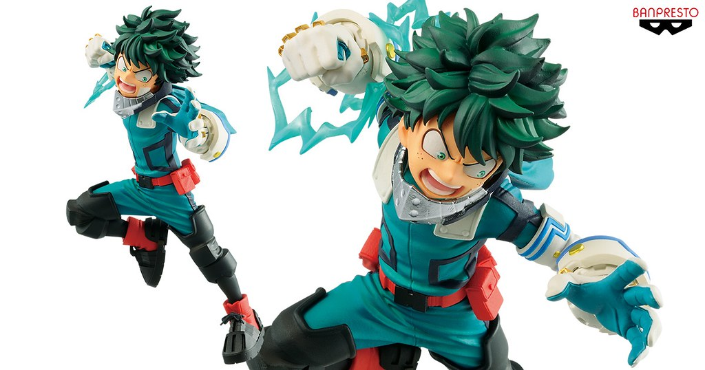 BANPRESTO《我的英雄學院》THE MOVIE HEROES:RISING v.s VILLAIN-綠谷出久 景品( THE MOVIE ヒーローズ:ライジング VS VILLAIN-DEKU)