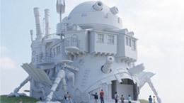 「吉卜力主題公園」新增三大電影場景 可轉動的移動城堡大砲滿分期待