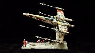 【玩具人閔哥投稿】1/72 BANDAI星際大戰X戰機與人型彩繪