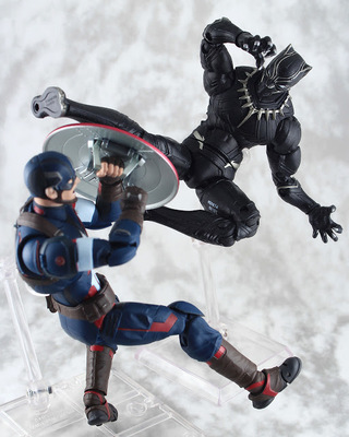 【玩具人Jerry Yuen投稿】Hasbro Marvel Legends Infinite-Black Panther 開箱玩評