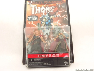 【玩具人馬馬投稿】Marvel Legends - Defender of Asgard 女索爾 3.75 雙人包