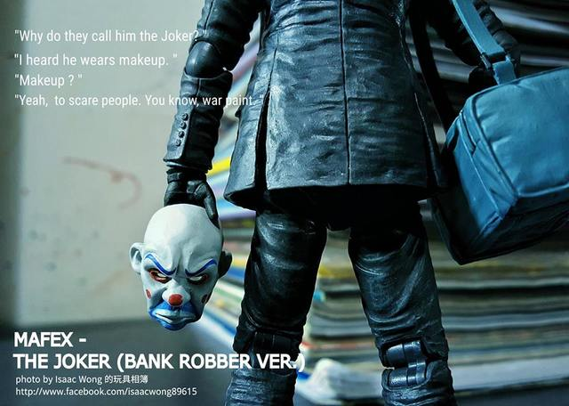 [Mafex] No.015 The Joker (Bank Robber Ver.)