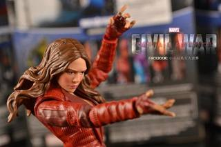 [玩評] Marvel Legends Captain America 2016 Wave 3  - Scarlet Witch 緋紅女巫