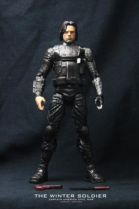 【玩具人。David Chang。投稿】孩之寶 Marvel Legends 英雄內戰 酷寒戰士巴奇 Bucky 開箱分享