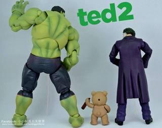 【小小玩具大大世界。投稿】[玩評] Figma 290 - Ted 2 熊麻吉2(台) / 賤熊2(港)